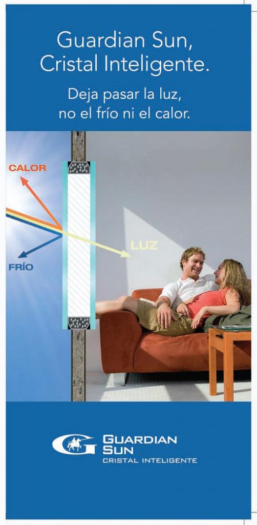 Cristal inteligente en ventanas de aluminio Fiser Barcelona