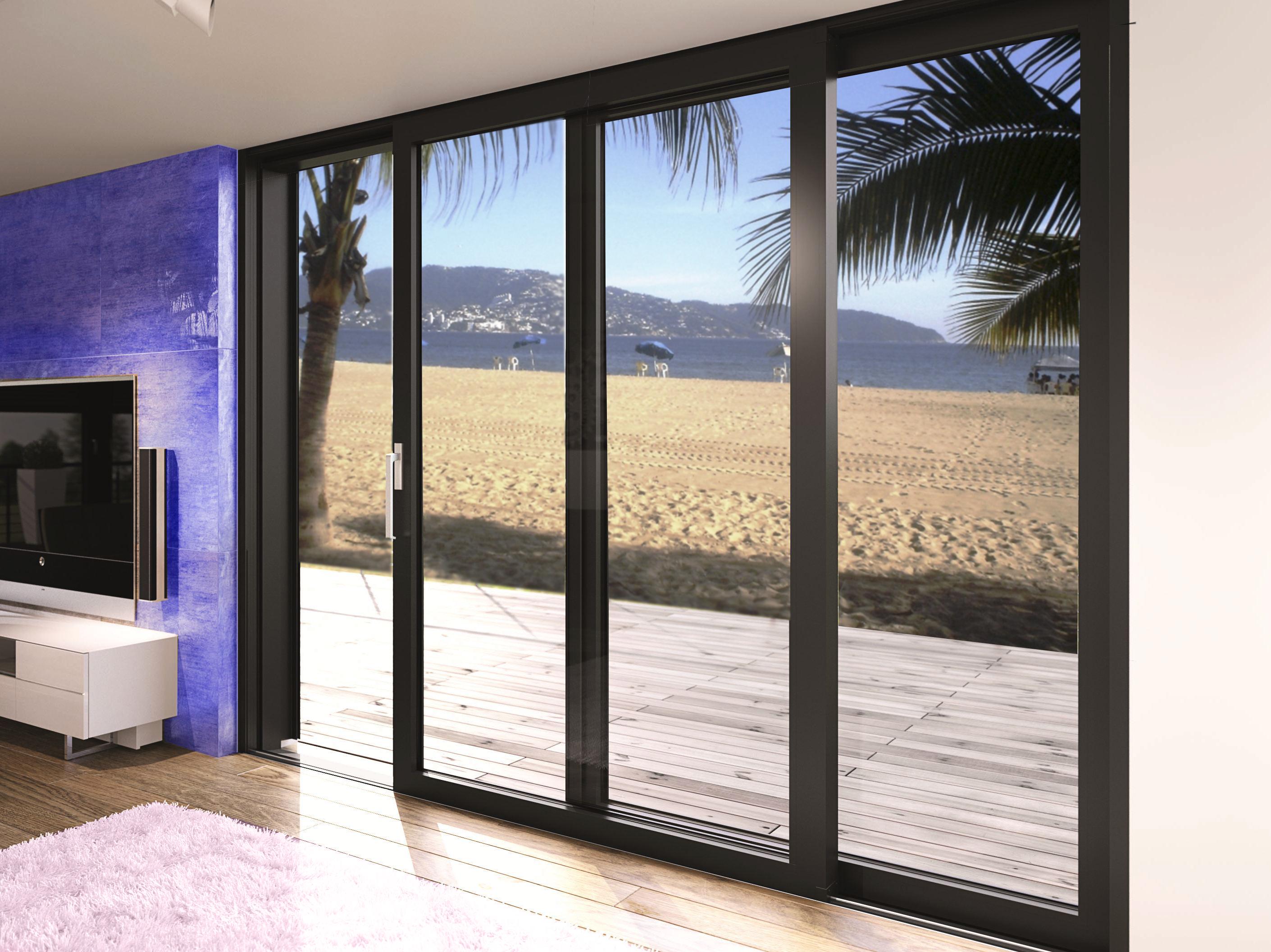 Ventanas de aluminio aluminios fiser for Tipos de aluminio para ventanas