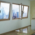ventana de aluminio oscilobatiente Aluminios Fiser