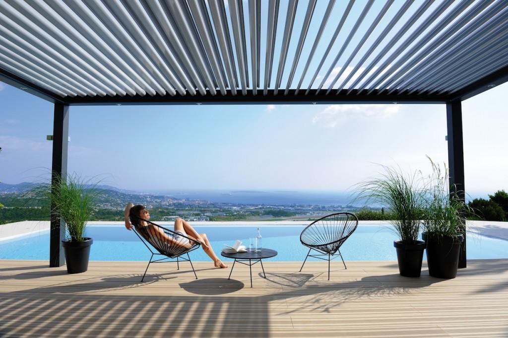 aluminios fiser pergolas de jardin y toldos en barcelona todo en aluminio. Black Bedroom Furniture Sets. Home Design Ideas